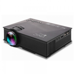 UC46+ Portable Mini LED Projector WIFI Wireless Miracast DLNA Airplay Home Proyector Beamer as shown