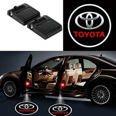 2PCS/pair Car LED Door Welcome Logo Laser Projector Shadow Light as shown For TOYOTA