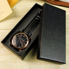 10pcs Watch Box Long Type Modern Design Jewelry Elegant Wrist Present Gift For Boxes Case Display black one size