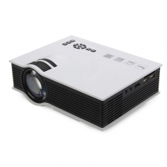 UC46+ Portable Mini LED Projector WIFI Wireless Miracast DLNA Airplay Home Proyector Beamer black one size