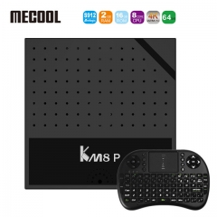 KM8 P Amlogic S912 Octa Core TV Box Android 6.0 Smart TV Set Top Box  WiFi HD 4K 1g+8g