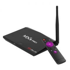 Smart Android 7.1 TV BOX MX9 Pro RK3328 Quad-Core H.265 UHD VP9 HDR 4K Media Player 2g+16g