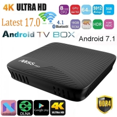 M8S PRO Smart Android 7.1 TV Box Amlogic S912 Octa-core 3GB WiFi BT 4.1 Airplay Miracast 2g+16g