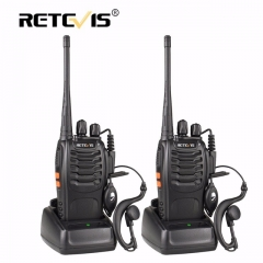 2 pcs Retevis H777 Portable Walkie Talkie 16CH UHF 400-470MHz Ham Radio Hf Transceiver