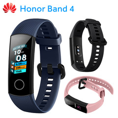 Huawei Honor Band 4 0.95-inch AMOLED Color Screen 5ATM Waterproof Swimming black one size