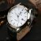 Men Watch Auto Date Business Quartz Watch Waterproof WristWatch Luminous Clock Valentines Gift white black one size