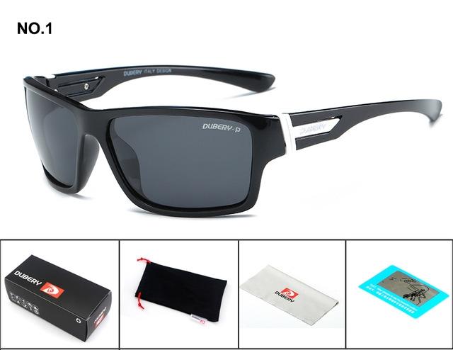 Polarized Sunglasses Men Women Driving Sport Fishing Sun Glasses For Men High Quality Luxury Brand black black one