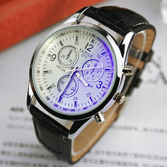 2019men watches Men Business Wristwatch Luxury Famous Male Clock Sports Quartz Watch Valentines Gift white black one size