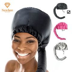 Bonnet Hood Hair Dryer Attachments Hair Dryer Adjustable Dryer Caps Hair Styling with Extended Hose Black one size