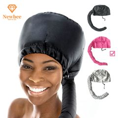 Bonnet Hood Hair Dryer Attachments Hair Dryer Adjustable Dryer Caps Hair Styling with Extended Hose Pink one size