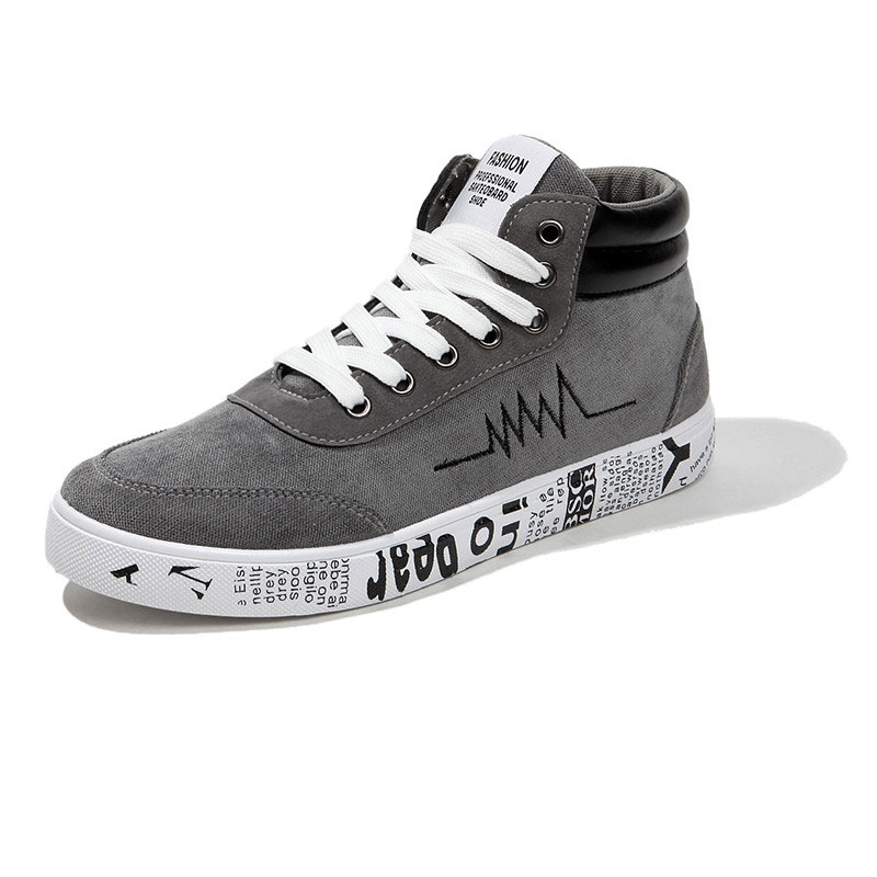 Kilimall  2018 summer new canvas shoes men casual shoes men s board ... 9b2c60623a9