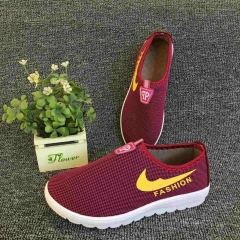 Spring and summer old Beijing cloth shoes Striding Shoes breathable casual Shoes red eur36