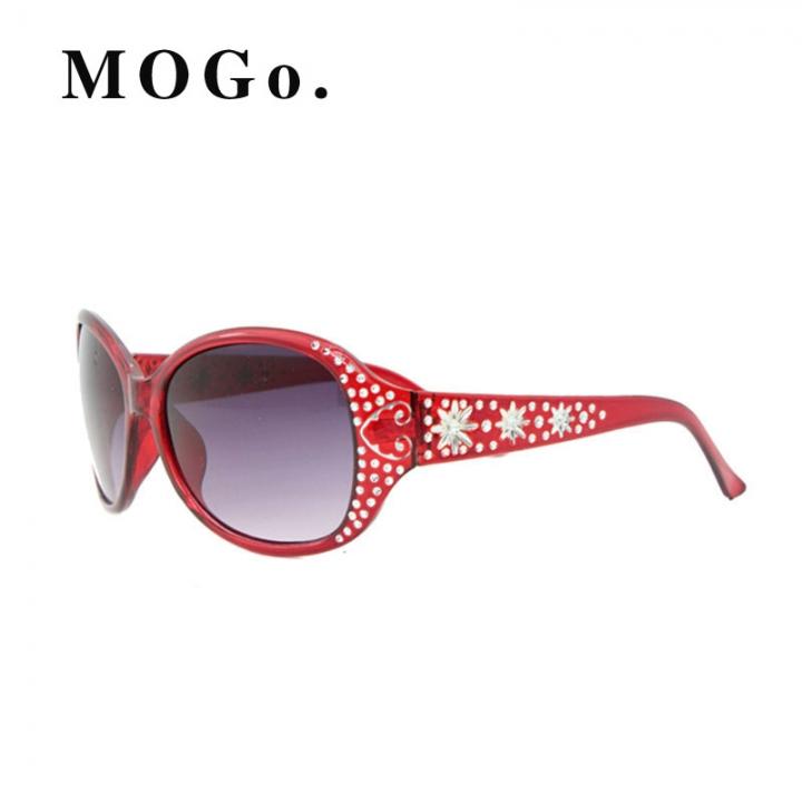 Sunglasses Women Luxury Ladies 2017 Sun Glasses Female Sunglasses UV400 S009 Red S009