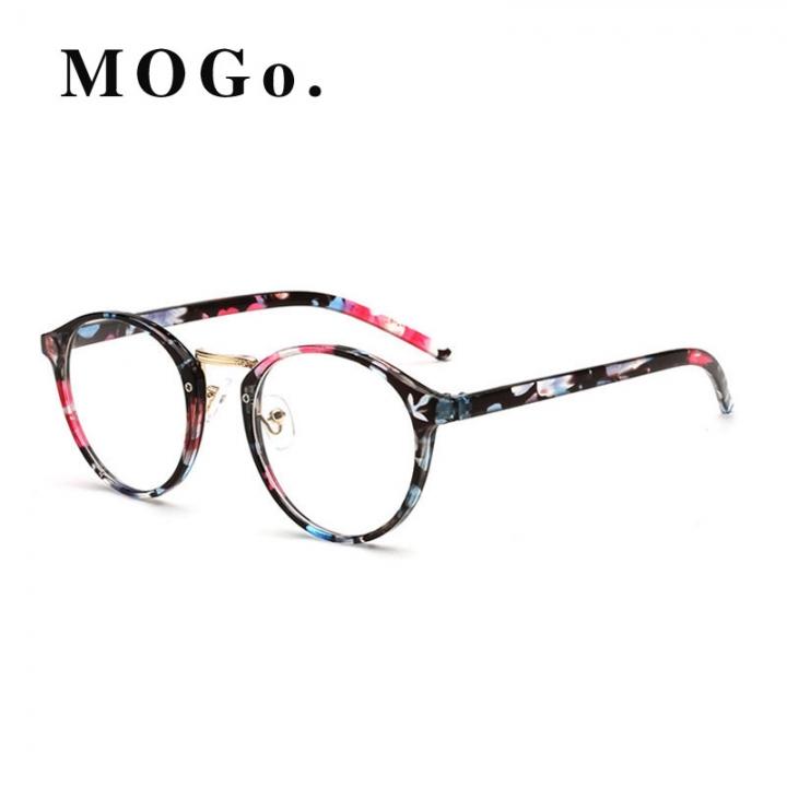 3ae3e0fabc GIRL TR Frame Fashion Glasses Women Eyeglasses frame Vintage Round Clear  Lens Glasses G007 C1