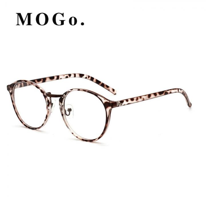 c7fb66f635 GIRL TR Frame Fashion Glasses Women Eyeglasses frame Vintage Round Clear  Lens Glasses G007 C3