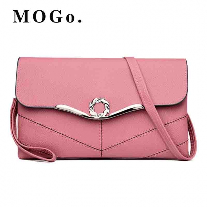 Women Crossbody Bags Female Totes Handbags fashion Leather Messenger Shoulder Bag B027 Pink one size