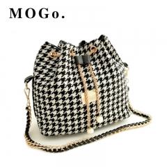 handbags Women Bag Messenger elegant Bags New Handbag Tassel Bucket Shoulder Handbags Crossbody B036 Black one size
