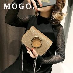 ladies messenger  bags leather shoulder bags women crossbody bag girl women handbags B032 Gold one size