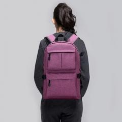 MOGO USB bagpack 15inch laptop backpack for women Men school Bag for boy girls Travel MG002 purple 15inch