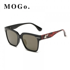 MOGO Cool Sunglasses Men Driver Shades Male Fashion Sun Glasses For Men Spuare Mirror  UV400 S012 Red one size