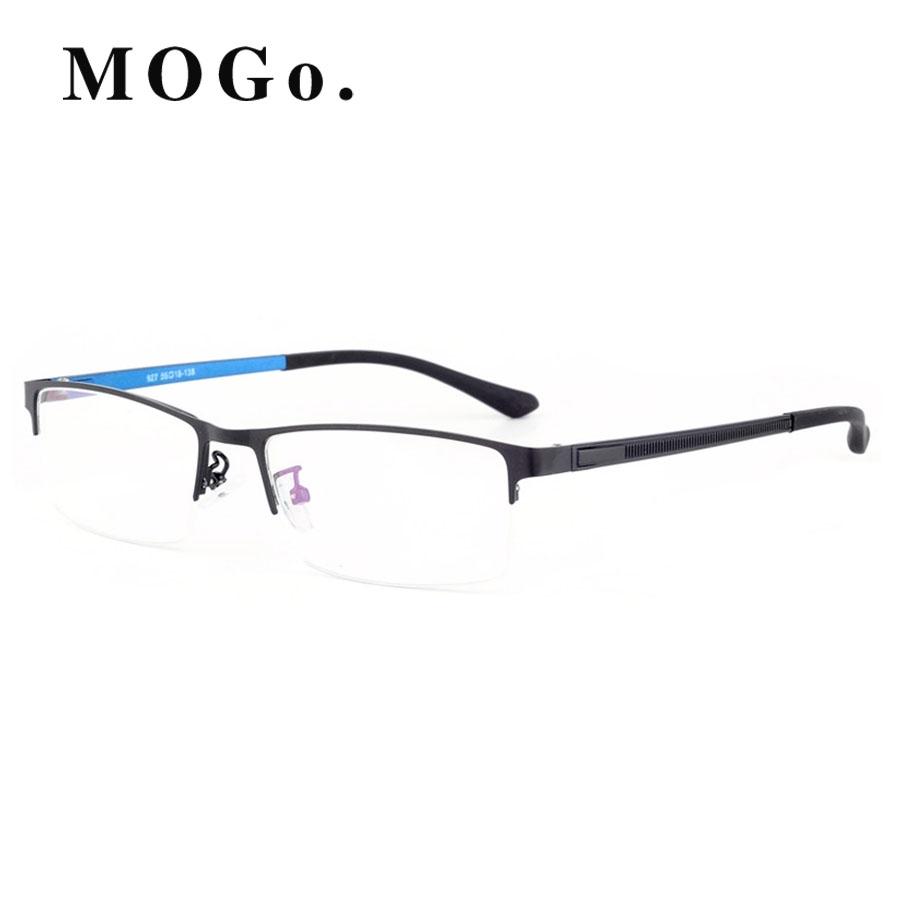 1c19cbe86c21 MOGO Glasses Frame Men Ultralight 2018 Business Eyeglasses man Optical  Frames Eyewear G010 Blue  Product No  1582768. Item specifics  Brand