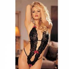 Hot Sexy lingerie Sexy Nightwear Underwear women lady dress Lace SL012 BLACK one size