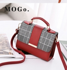 MOGO Women Handbag  Female Shoulder Bag Girls Messenger bag Casual Women Bag B041 red one size