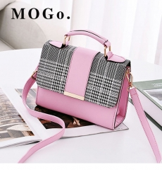 MOGO Women Handbag  Female Shoulder Bag Girls Messenger bag Casual Women Bag B041 pink one size