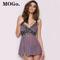 MOGO New Sexy Clothes Erotic Underwear Women Sexy Lingerie Hot Plus Size 2XL Sleepwear SL002 PURPLE XL