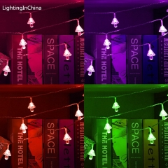 3M 20LED Battery Box Colorful Pretty Mushroom Light Strings Use For Study Living Room Decoration Colorful 3M 30LED
