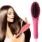 Professional Mini Protable Electric Fast Hair Straightener Straight Hair Styling Tool Red 21cm*5cm*3cm