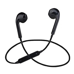 Fashion Wireless Sports Bluetooth Earphones Black