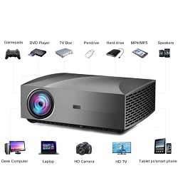 Licer Full HD 3D Multimedia Video Business Projector