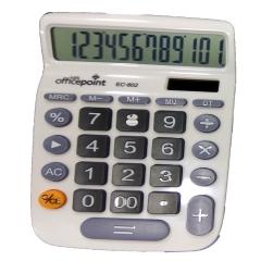 Office Point Calculator EC-802 (03CAL1001) white .