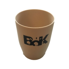 Plastic Bottle Water Cup 500ml gray small