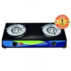 TIANLONGTable Top Two burner7102 Black Black