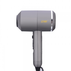 Felizamor Portable Thermostatic Air collecting Traveller Compact Blower Electric Hair Dryer grey per picture