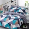 Pure Cotton Pack Of 4/Set Duvet Cover Bedsheets Pillowcase Brief Bedding Comforter as picture 5*6