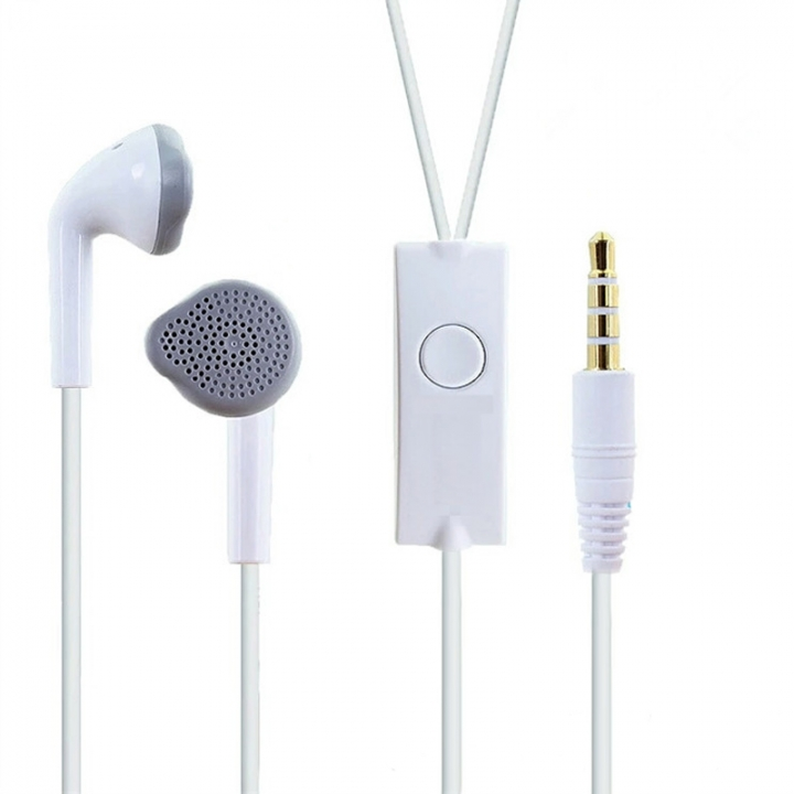 SAMSUNG C550 Earphone With MIC HIFI Bass Earbud Headset white