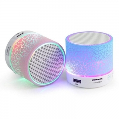 Mini LED Bluetooth Speakers Hands Free Portable Wireless Audio Support TF/MIC/USB/AUX unlimited 5w A9