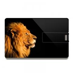 Newest Design USB 4.0 Flash Disk Class 10 High Speed Memory Card Pen Drive lion card 8gb