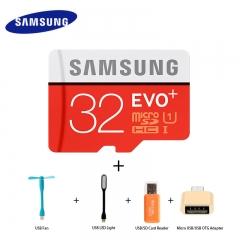 Pack Of 5 SAMSUNG 32 GB Memory Card /USB Fan/USB Light/Card Reader/Micro USB OTG Adapter samsung class 10 32gb sd/tf memory card