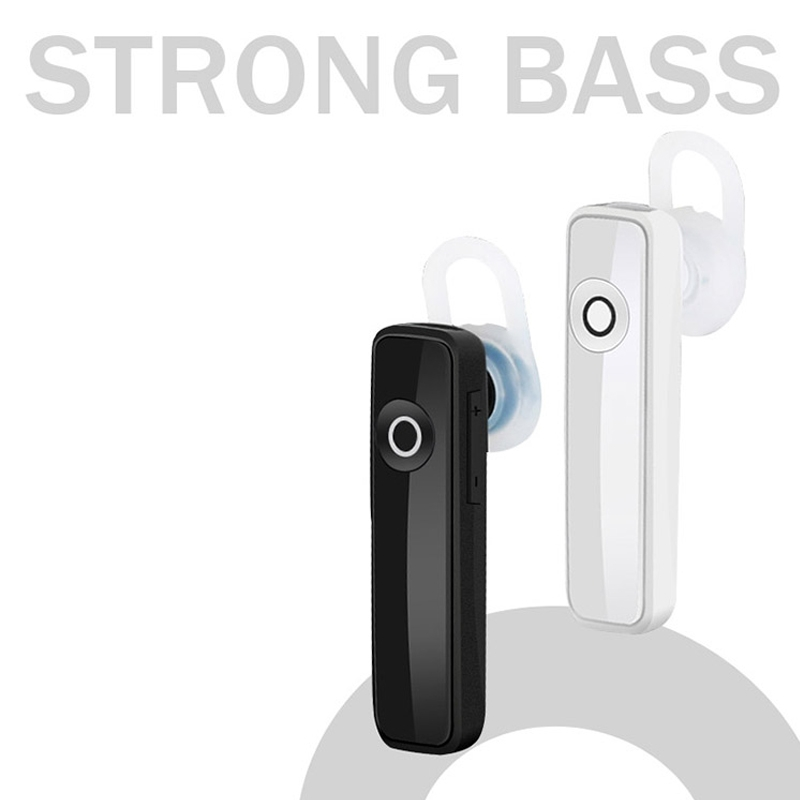 Earphone Bluetooth 4.0 Wireless Sports Headset Bluetooth Bass Rechargeable Earphone With MIC black 4
