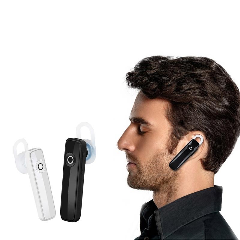 Earphone Bluetooth 4.0 Wireless Sports Headset Bluetooth Bass Rechargeable Earphone With MIC black 3