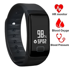 Sports Smart Watch Blood Pressure Heart Rate Monitor Fitness Tracker Pedometer Wristband Smartwatch blue onesize