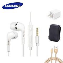 SAMSUNG Earphone Supa Bundle Earphone/Case/Charger/USB Cable All In 1 Set earphone+charger+cable+case