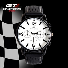 GT Sports Men Watch Rubber Band Men's Watches KAKA Birthday Gift white onesize
