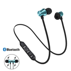 Newest Wireless Headphone Bluetooth Earphone For Phone Neckband Sport Earphone With Mic white