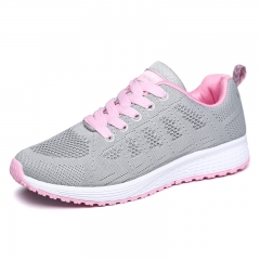 Women Shoes Running Shoes Light outdoor Sneakers Breathable Sport Shoes grey 35