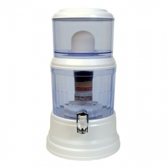 Unbreakable Non-electric Water Purifier,Dispenser,filter - 16Litres - White